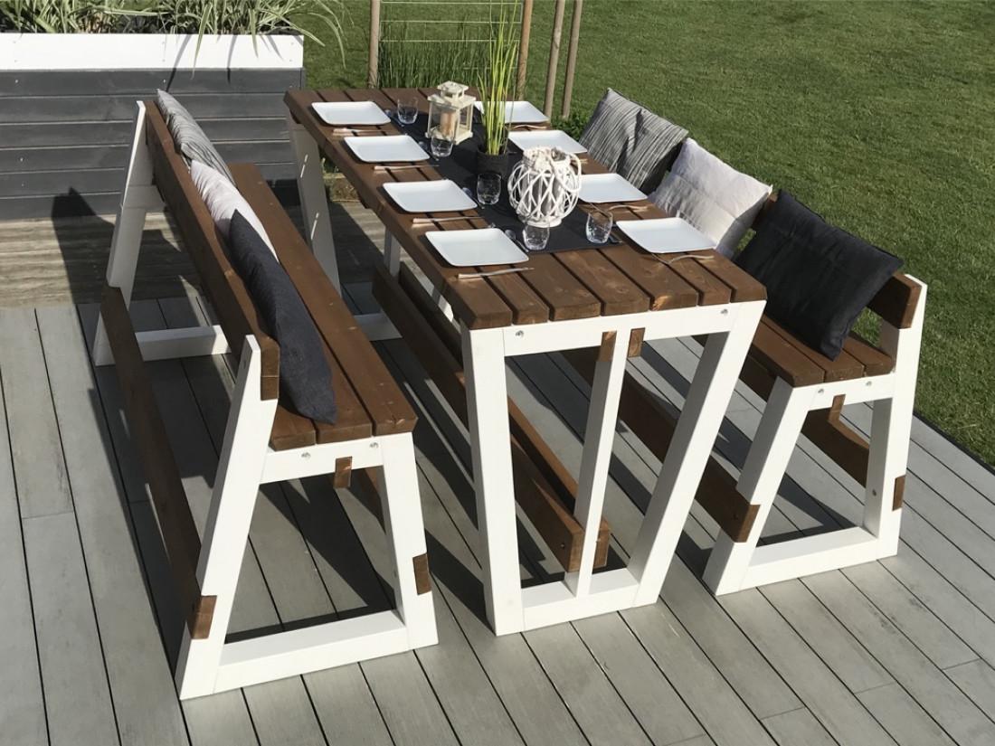 Table haute extérieure - KYUKA | Idea&Ko