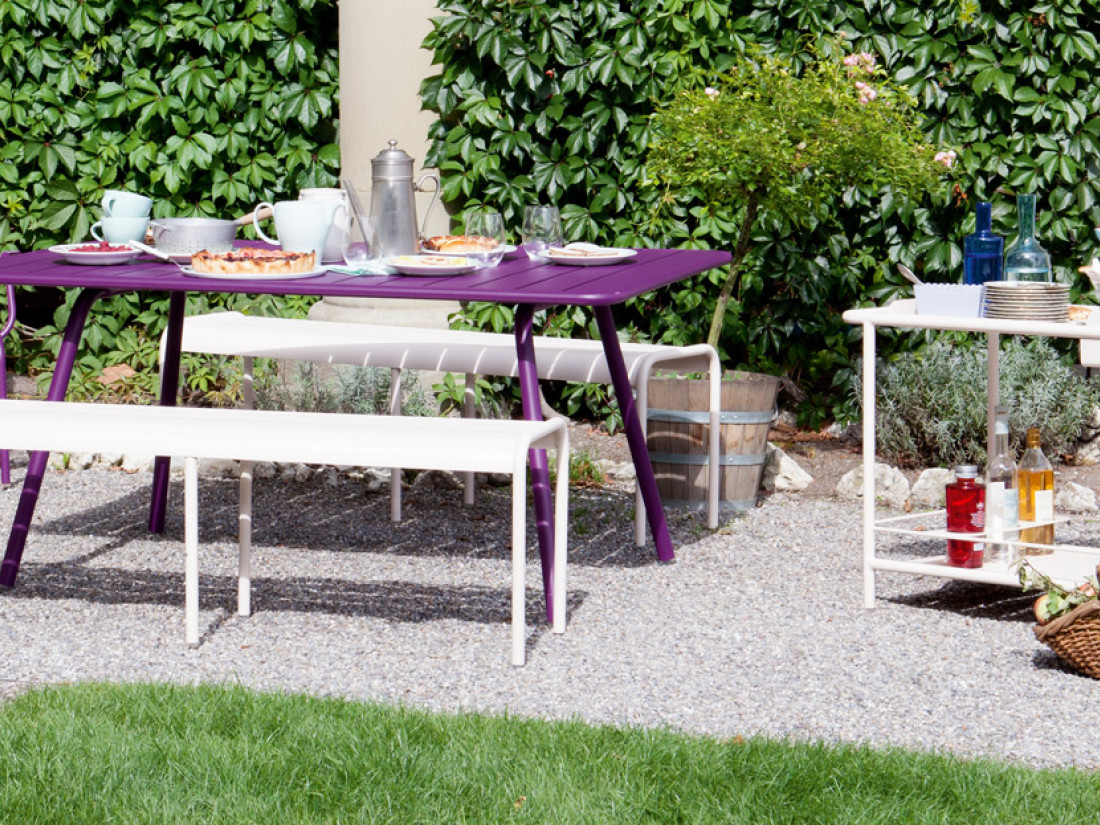 Mobilier de jardin de luxe elegant table et chaise de jardin luxe idea ko with mobilier de for Table de jardin de luxe