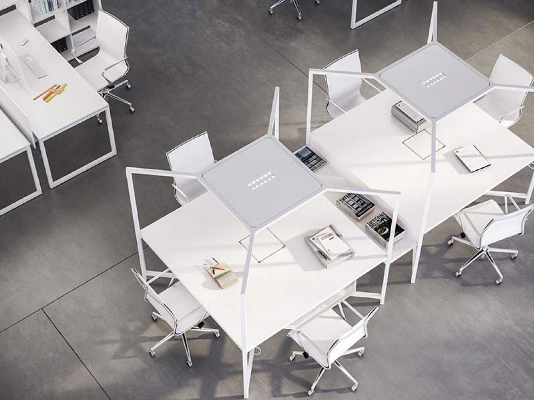 Bureau coworking hub idea ko for Mobilier bureau ecologique