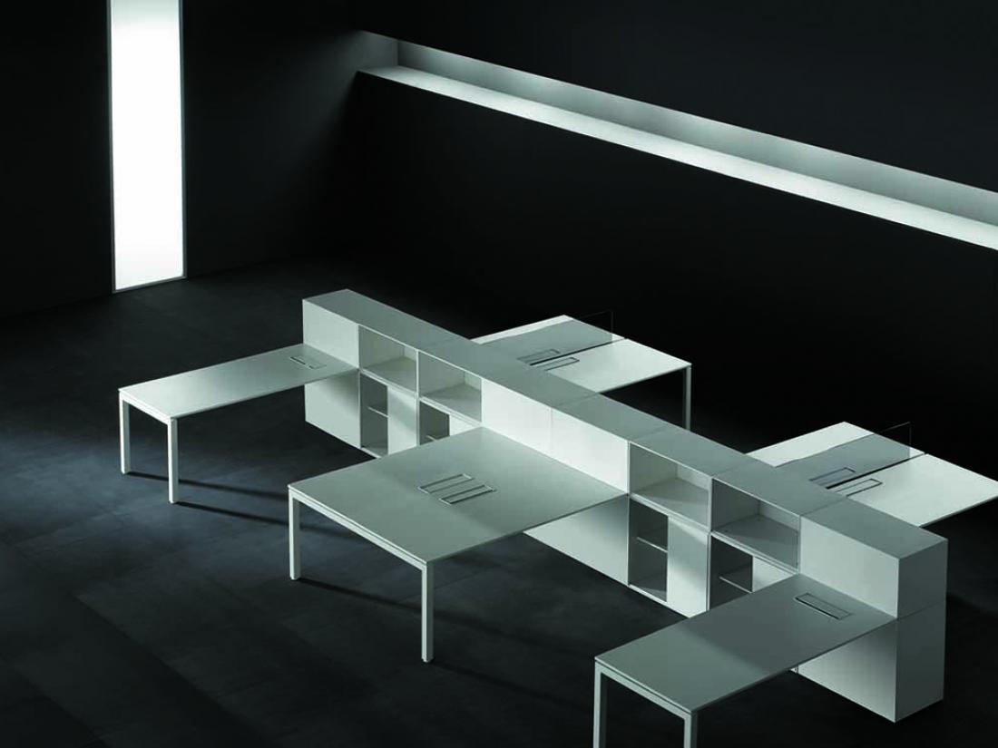 Bureau blanc f25 idea&ko